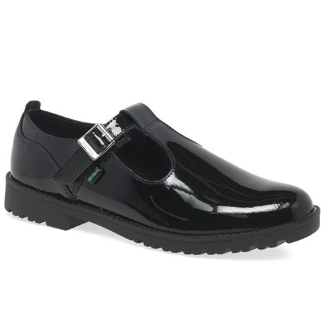 school shoes for high school kickers lachly t senior patent t bar school shoes