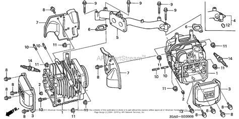 honda engines gxv eeaa engine jpn vin gjarm   gjarm  parts diagram