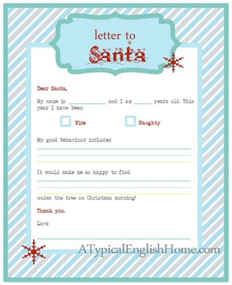 free printable letter to santa template cute christmas a typical english home freebie thursday letter to santa