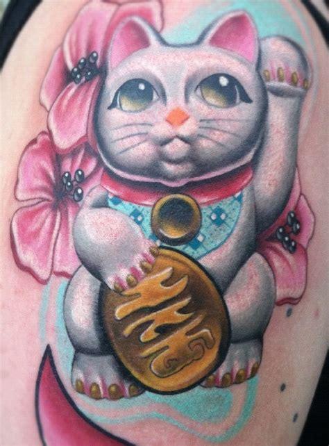 best 20 lucky cat tattoo japanese lucky cat design www pixshark