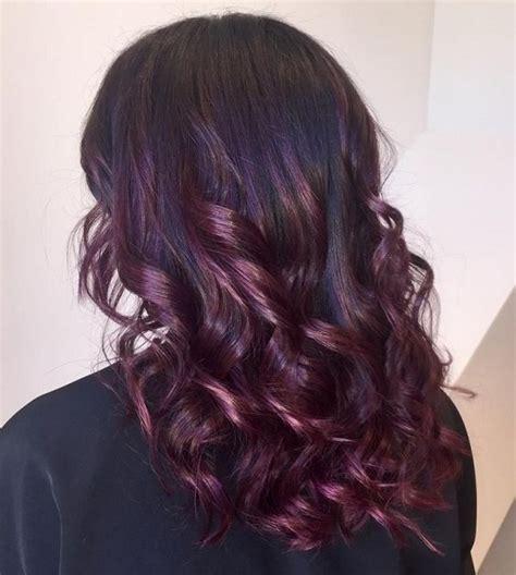 purple burgundy hair color 18 flirty burgundy hair ideas fashion daily