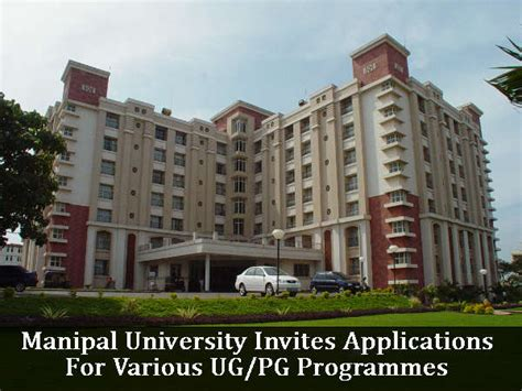 Manipal Mba Admission by Manipal Invites Applications For Various Ug Pg