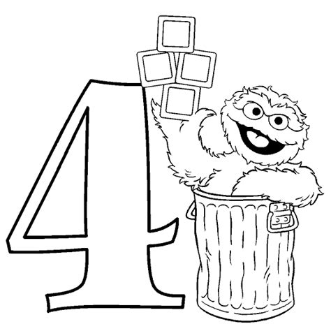 Amazing Coloring Pages Oscar The Grouch Printable Oscar The Grouch Coloring Pages