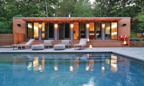 pool home shipping container pool house in connecticut pool house
