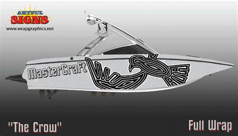 mastercraft boats reddit mastercraft boat wrap the crow by ghosteater on deviantart