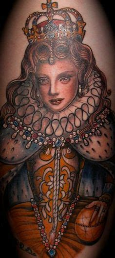 tattoo queen elizabeth really cool tattoos on pinterest tat tattoos and body