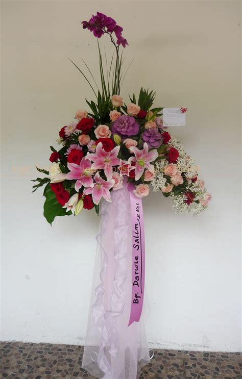 Dekorasi Bunga Standing 04 standing flower congratulation inge florist wedding