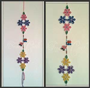 Wall Hanging Design Trupti S Craft Paper Flower Wall Hanging