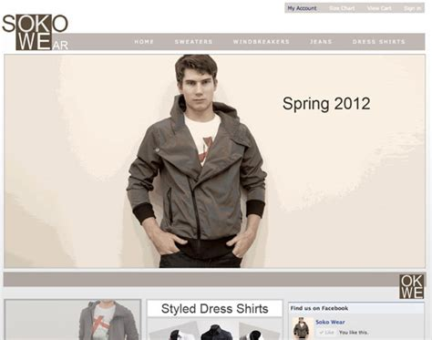 design clothes website new menswear line in nyc soko wear smartnet solutions