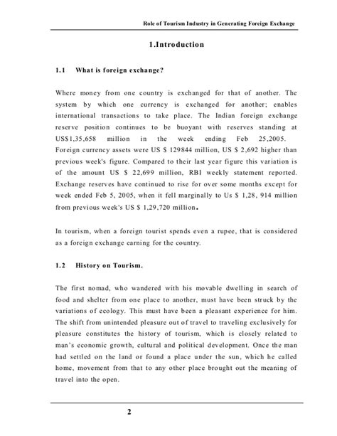Tourism In India Essay Conclusion by The Importance Of Tourism Industry Essay Drugerreport374