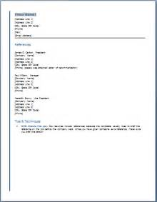 Reference For Resume Format by Reference List For Resume Templates Resume Template Builder