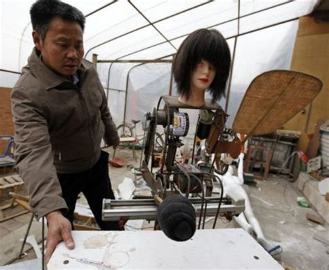 membuat robot berjalan gambar unik petani china membuat 47 robot berjalan dari