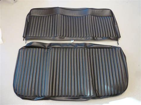 front bench seats front bench seat cover 1966 73 black broncograveyard com