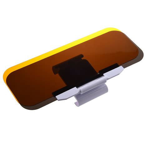 Sonnenblende Auto by Wd Clear Yellow No Glare Flip Out Sun Visor Extender For