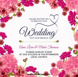 Wedding Program Fan Template Invitaciones Fotos Y Vectores Gratis