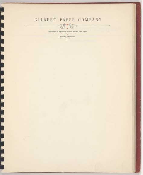 Firm Letterhead Paper Gilbert Paper Company Letterhead Fonts In Use