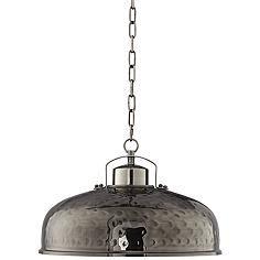 essex 16 wide dyed bronze metal pendant light large hammered metal pendant lights illuminate a barn