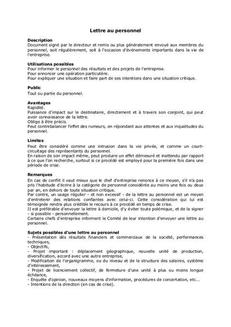Lettre De Restructuration D Entreprise Communication Entreprise