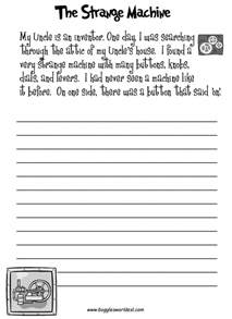 fun creative writing prompts with worksheets homeschool