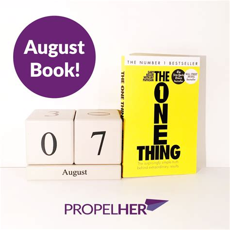 pictures of august from the book the one thing book of the month august 2017 187 propelher