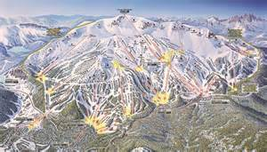 mammoth mountain california map 12 inches of snow hits mammoth mountain