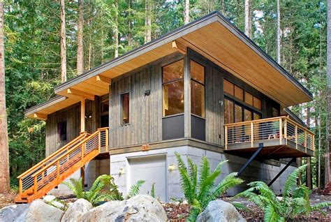 high quality prefab modern country cabin idesignarch