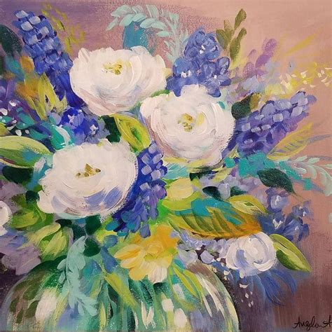 acrylic painting floral 156 best images about free acrylic painting tutorial