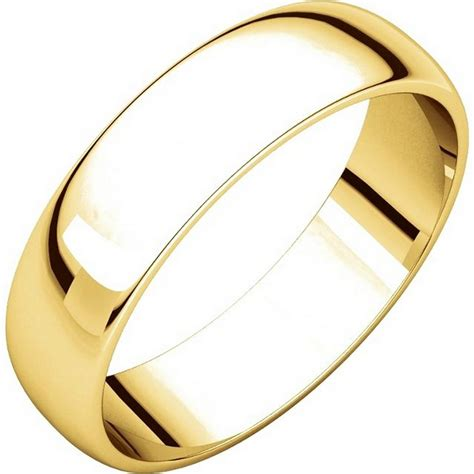 Wedding Bands Plain by 112941 14kt Gold Plain 5 0mm S Wedding Band