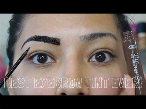 Etude Eyebrow Tint etude eyebrow tint review on olive skin alexisjayda