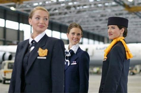 Information About Cabin Crew by Lufthansa Air Hostess Germany Aviator Flight