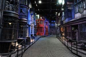 le chemin de traverse les studios harry potter