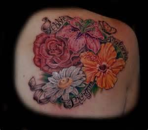 flowers birth flower tattoo april tattoo