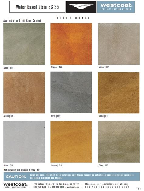 colors that work in concrete grey apartment 1000 images about water based concrete stain color charts