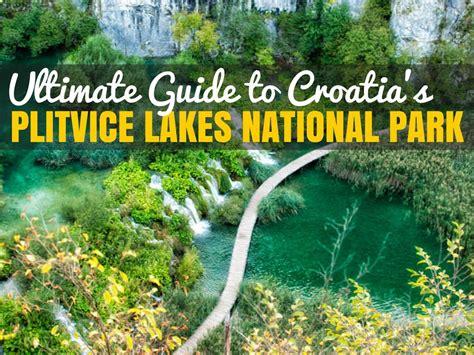 Comfortable Men Shoes For Work Plitvice National Park Unesco Site Travel Croatia Like A