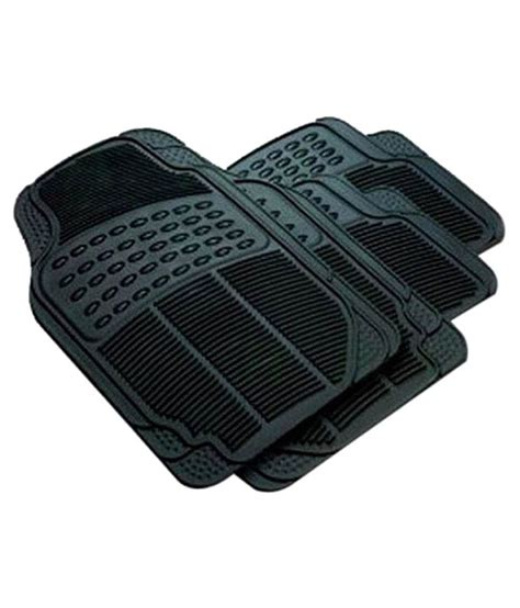 Honda City Foot Mats g king rubber foot mats set of 4 for honda city zx grey black with car cleaning brush available