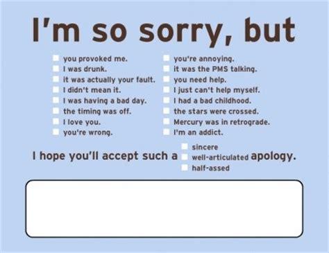 Post It Apologies Excuses Updates by Apologies Apologise Apologize Apology Bg Blue Card