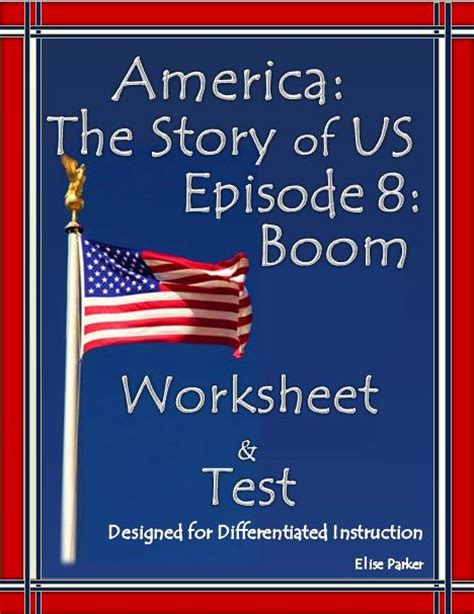 America The Story Of Us Episode 8 Boom Worksheet Answers by 78 Images About History Channel Worksheets On