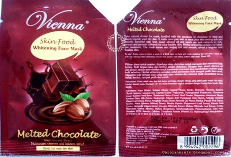 Vienna F Mask Chocolate 15ml review vienna melted chocolate mask