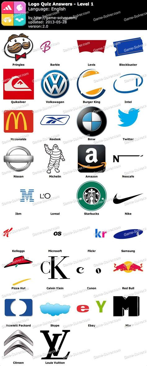 logo quiz level  juicyfj pinterest logos  quizes