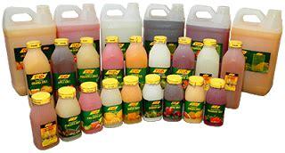 toza natural fruit juice tidak  natural toza