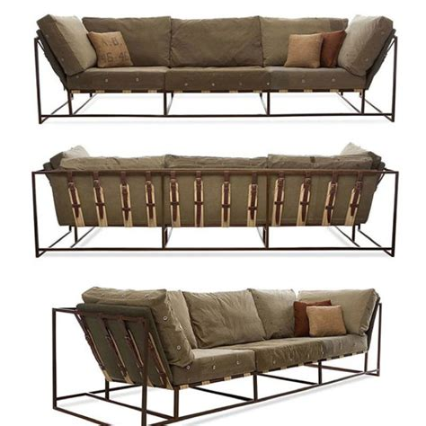 industrial style couch repurposed military grade industrial couch h o m e