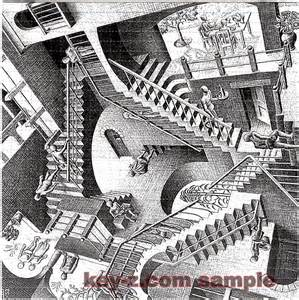 Stairs Artist by Image Gallery Stair Illusion