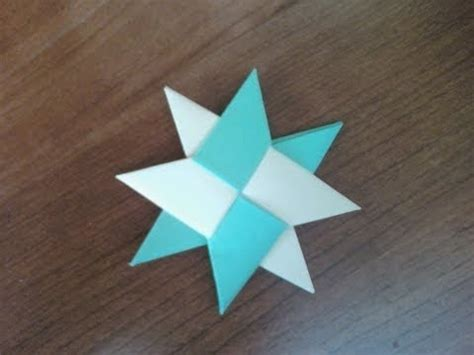 How To Make A Paper Sided - how to make an origami shuriken