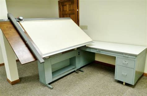 Hamilton Drafting Table Espotted Vemco Drafting Table