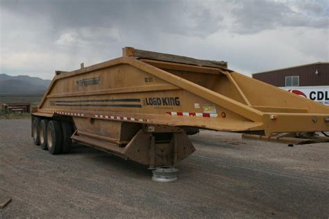 cing equipment sale load king belly dump utah nevada idaho dogface equipment