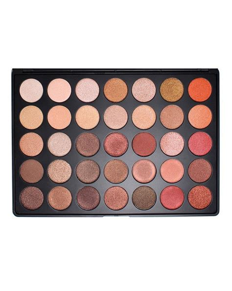 Morphe 35 N Palette 35 colour shimmer nature glow eye shadow palette 35os by morphe brushes