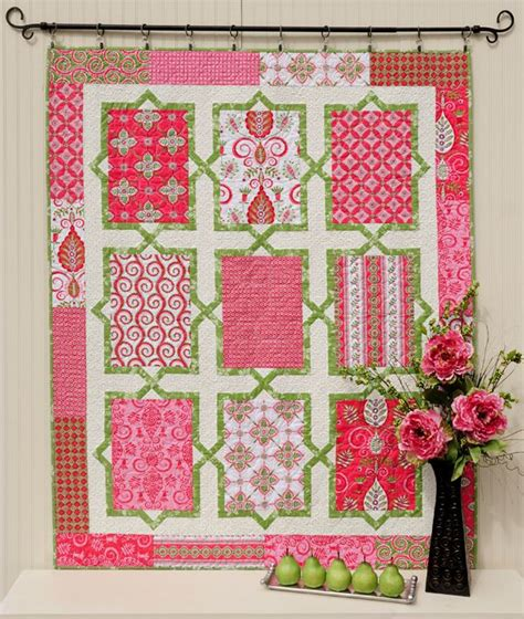 Echo Pattern In Spanish | 1000 images about pink quilts on pinterest quilt quilt