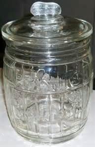 vintage planters mr peanut jar barrel shaped counter