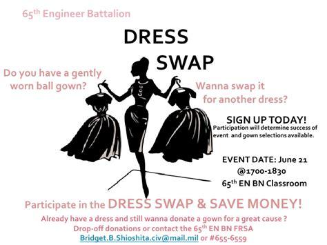 Dress swap flyer 1