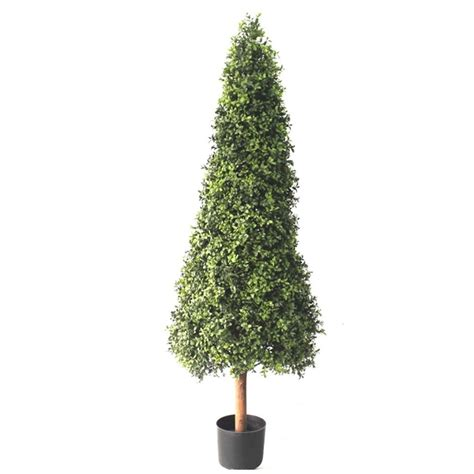 pyramid topiary tree 5ft boxwood pyramid topiary tree artificial plants and